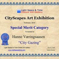 SM - Hanne Væringsaasen - CITYSCAPES - 2016 ART EXHIBITION - CERTIFICATE web