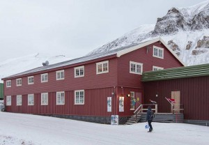 Svalbard Gallery and the residency