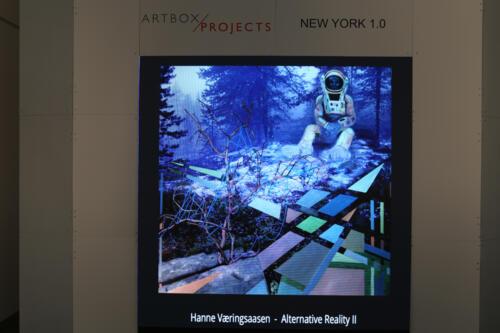 Alternative Reality II on the Big Screen in NewYork 2018
