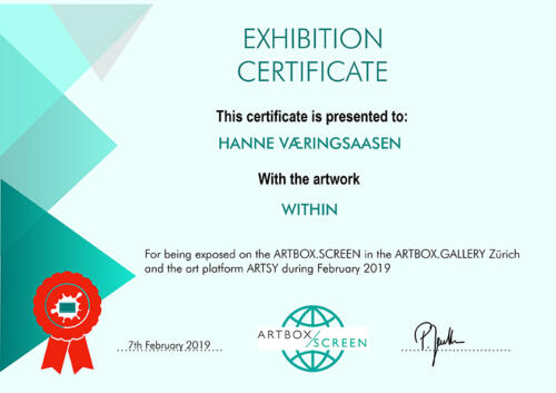 Certificate Hanne Vaeringsaasenweb